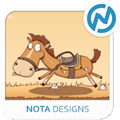 Funny Horse ND Xperia Theme