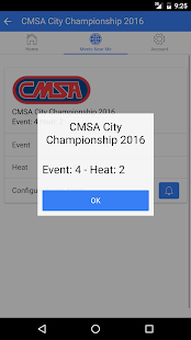Heat Sheet - Clerk of Course- screenshot thumbnail