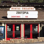 Logo for The Rustic Theatre