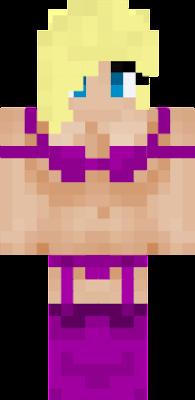 pute lingerie violette