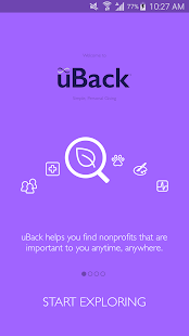 uBack- screenshot thumbnail