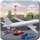 Cargo Plane Car Transporter Flight Mission