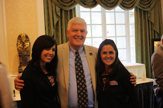 Photo: Rod Grindle and Storm Girls