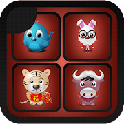 Kids and Animals : Animals memory game for kids