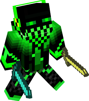 Loves Emeralds! He is a proffesional assasin of mobs! Hes very quite