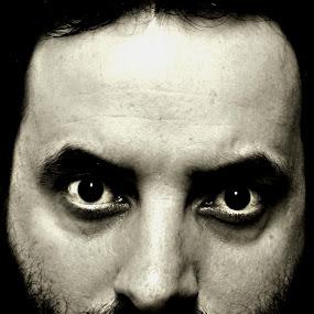 Remembering 911 by Isaac De Jesus - Black & White Portraits & People ( black & white, art, serious, man, portrait, captivating )