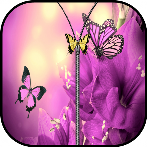 Butterfly Beautiful ZipperLock