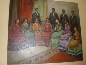 Photo: picture of the Jubilee Singers