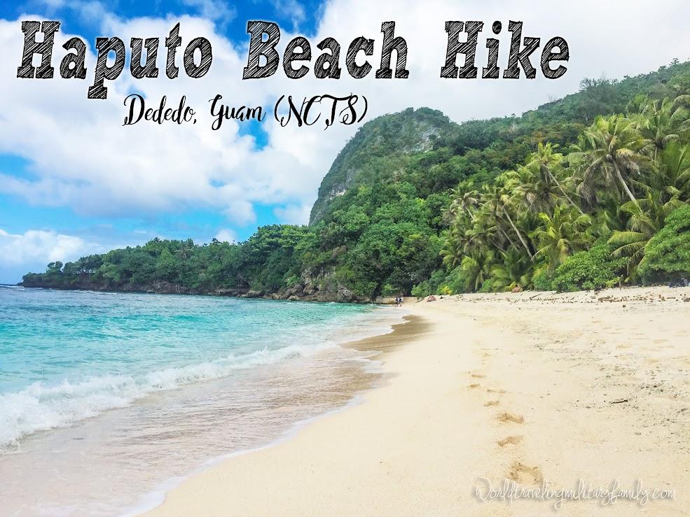 Haputo Beach Hike - Dededo, Guam (NCTS)