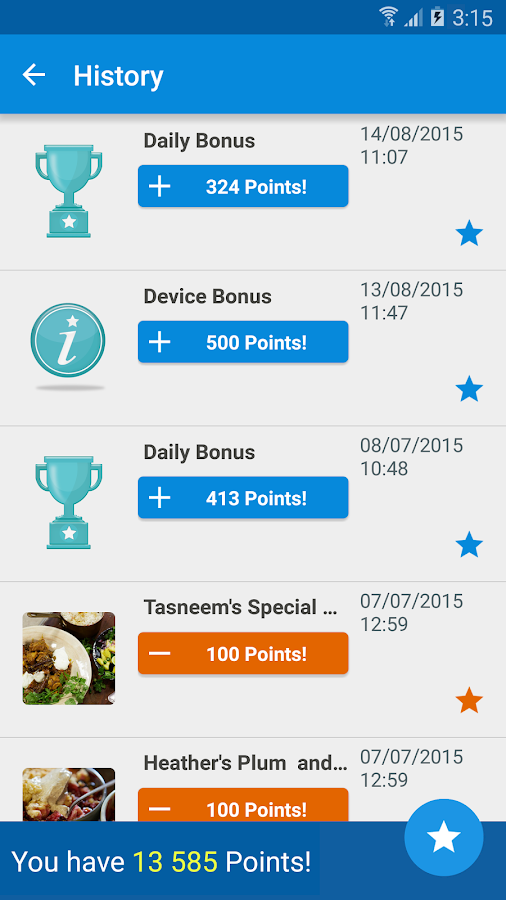 Samsung Rewards- screenshot