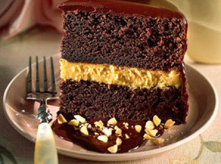Chocolate-peanut Butter Mousse Cake Recipe