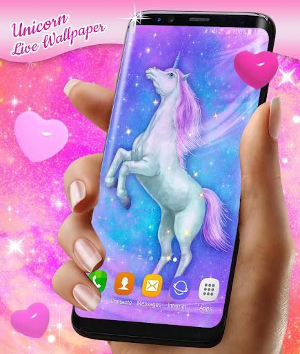Majestic Unicorn Live Wallpaper for PC