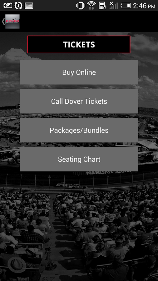 Dover International Speedway- screenshot