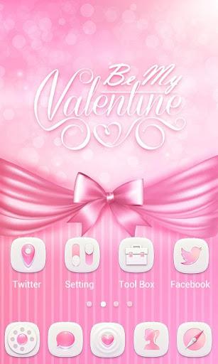 my valentine go launcher theme screenshot 2