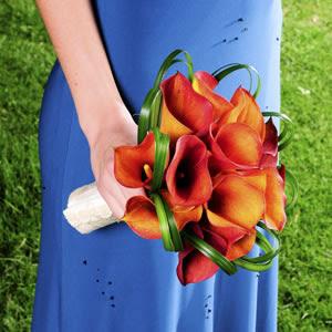 Photo: Mini Calla Bridesmaid Bouquet http://bit.ly/QDFT7M