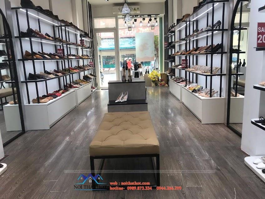 thiết kế thi công nội thất shop giày dép
