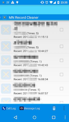 MN履歴のクリーンアップ - 電話 文字内容まとめ 削除!