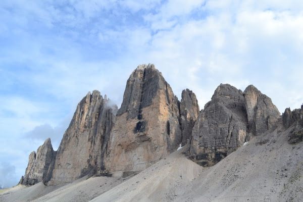 Paesaggio alpino di vittorio