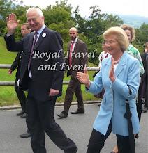 Photo: Fürst Hans Adam II. and Fürstin Marie