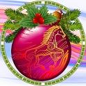 Christmas Eve Clock widget icon