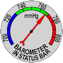 Barometer In Status Bar icon