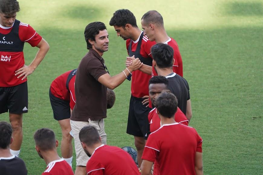 Mario Silva se despide de la plantilla.