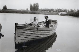 Photo: Hans, Nel en Adrie vd Herik