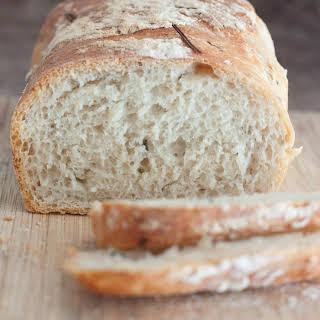 No Knead Rosemary Garlic Bread.