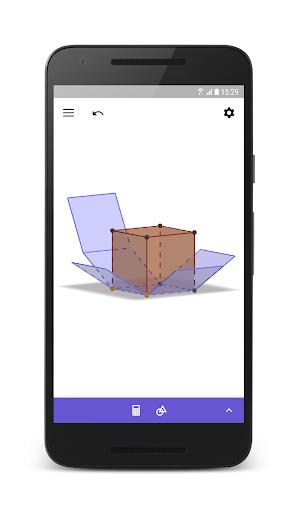 GeoGebra 3D Graphing Calculator 5.0.523.0 screenshots 2