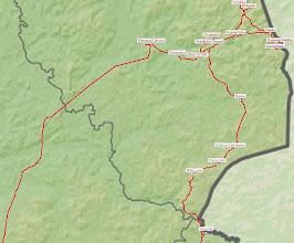 Photo: B9300000 Podlasie - mapa trasy