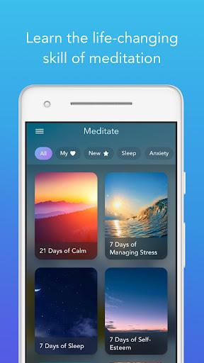 Calm - Meditate, Sleep, Relax 4.18 screenshots 2