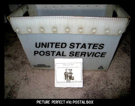 Photo: Point values for this target: 3 Points for any type of box with a letter inside; 5 Points for a Postal Service box. Email your submission to contests@superficialgallery.com.