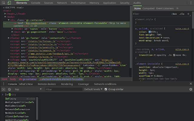 DevTools Theme: Atom Dark with Green Cursor
