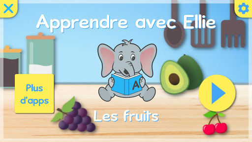 Apprendre les fruits