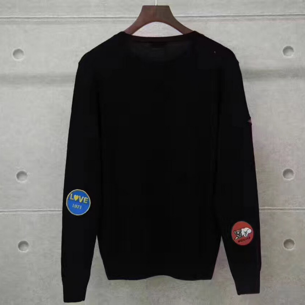 SLP EMBROIDERY PATCH KNIT