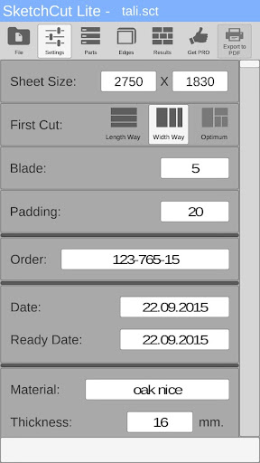 SketchCut Lite - Fast Cutting 3.0 screenshots 4