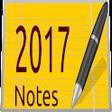 Calendar Notes 2017
