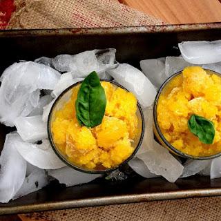 Mango Cardamom Granita
