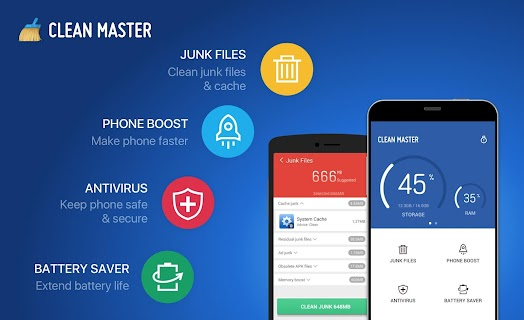 Clean Master (Boost&Antivirus) screenshot 07