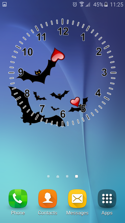 Halloween Analog Clock Android Apps On Google Play
