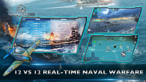 Naval Creed:Warships apkpoly screenshots 3