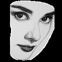 Tehnik Menggambar Wajah Dengan Pensil icon