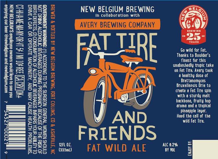 Logo of Fat Tire & Friends Fat Wild Ale