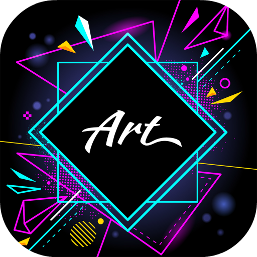 Shape Pictures Art: Overlay Photo Editor App Icon