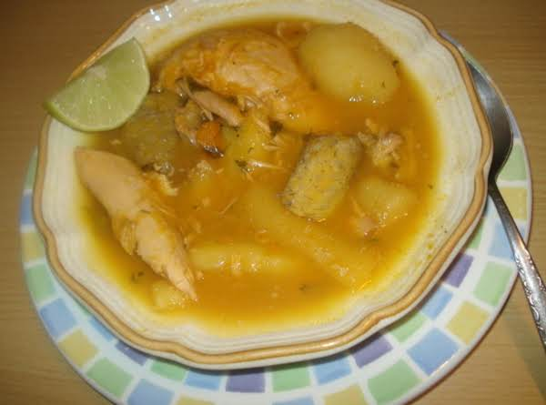 Nini's Cuban Tropical Soup, Sopita Tropical De Nini Recipe