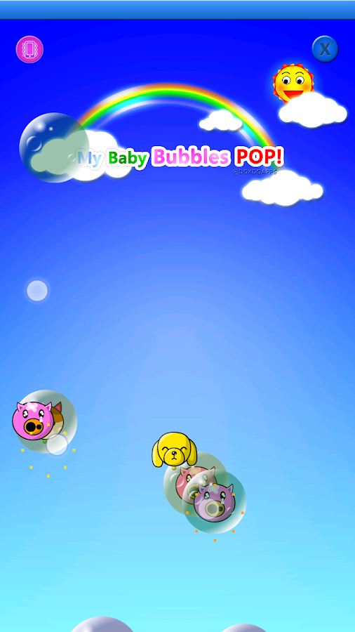 My baby Game (Bubbles POP!)- screenshot