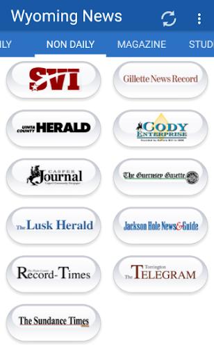 Wyoming Newspapers all News 1.1 screenshots 2