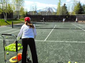 Photo: Christina teaching
