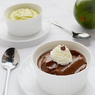 Avocado Chocolate Pudding