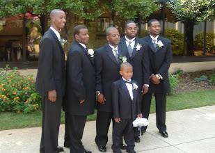 Photo: Rashid with the boys.